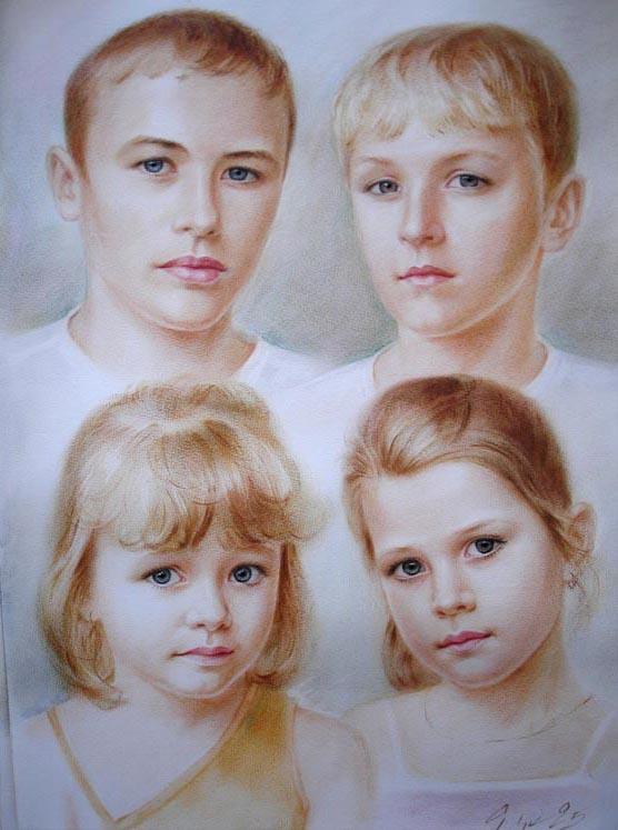 Дитячі портрети