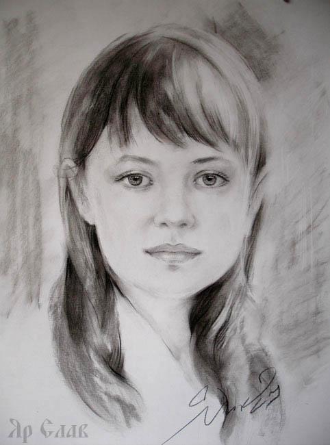 Портрет девочки детский портрет