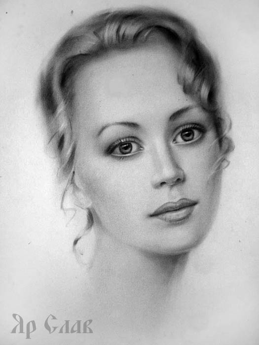 Портрет графіка романтичний портрет