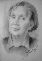 Портрети олівцем